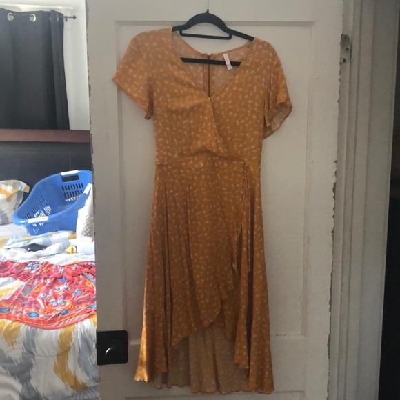 Xhilaration Dresses & Skirts - Mustard summer dress - Xhilaration